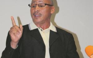Mnr. Attie Beukes, leier van die Kommunistiese Party. Foto: Nampa